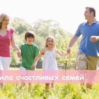 «Правила счастливых семей» — обзор книги
