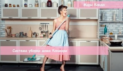 Система уборки дома Конмари