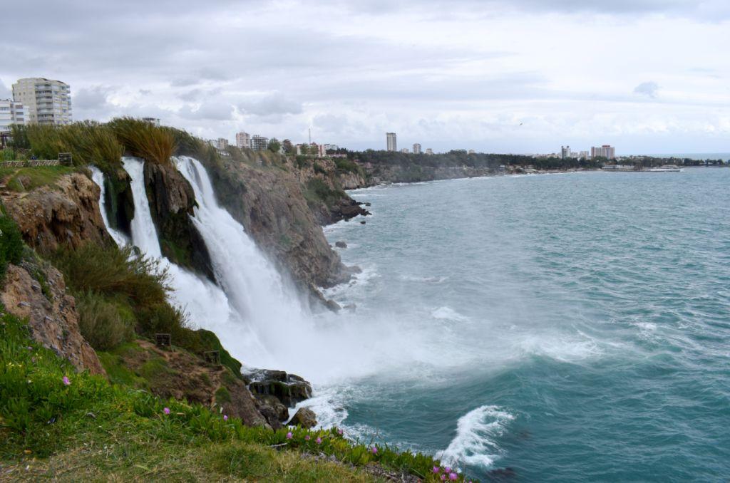 водопад анталья